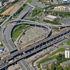 В Москве изменят разметку на Третьем транспортном кольце