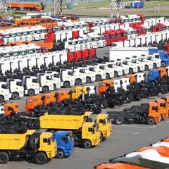 Продажи грузовиков в апреле подскочили сразу в два раза