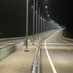 Свыше 1,4 тыс. метров освещения установят на трассах Тульской области до конца 2020 года