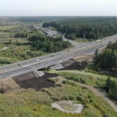 На подъезде к Екатеринбургу отремонтировали мост через Синару