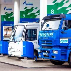 «Газпром» за три года построит в Омской области семь автозаправок на метане