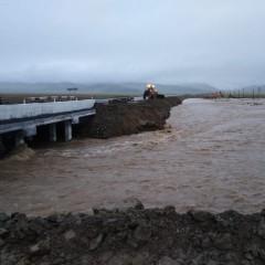 Пострадавший из-за ливней мост на Алтае отремонтируют в 2021 году