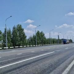 На трассе Р-255 «Сибирь» установят еще 17 км линий электроосвещения