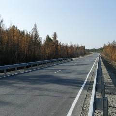 В Якутии уложили асфальт на 22 км трассах «Вилюй»