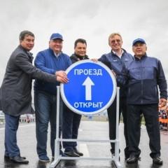 В Татарстане открыли две новые развязки на трассе М-7 «Волга»