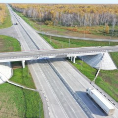 В Новосибирской области открыли реконструированный участок трассы «Иртыш»