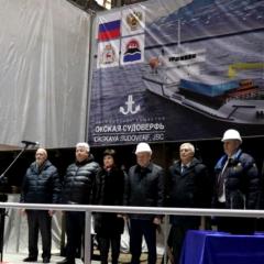 Началось строительство парома для Камчатского края