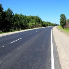 Томские власти отремонтировали участок дороги «Томск-Мариинск»