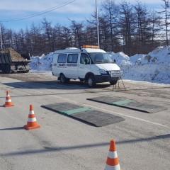 На дорогах Якутии установят 7 передвижных пунктов весогабаритного контроля
