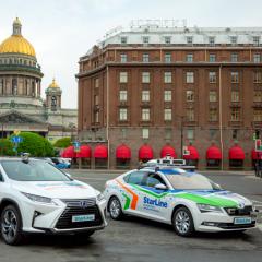 10 июля на улицы Санкт-Петербурга выедет беспилотный автомобиль
