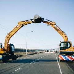 В Бурятии реконструировали участок трассы Р-258 «Байкал»