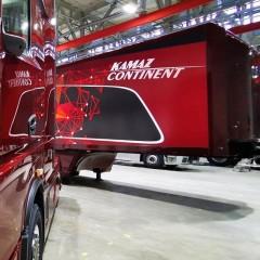 «КамАЗ» представил прототип грузовика следующего поколения К6