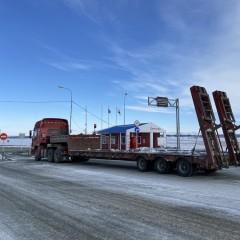 С 24 апреля в ЯНАО закрывается ледовая переправа «Салехард-Лабытнанги»