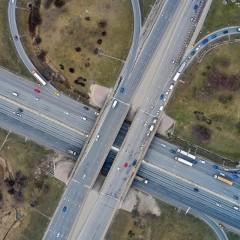 Транзитные грузовики будут постепенно убирать с МКАД на ЦКАД