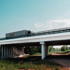 Движение на участке трассы А-107 в Московской области, где обрушился мост, восстановлено