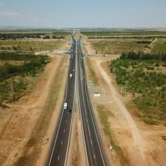 Открыли движение по четырем полосам «Тавриды» от Керчи до Белогорска