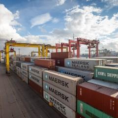 Global Ports запускает регулярный контейнерный поезд в «Янино»