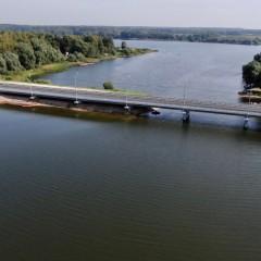 На трассе А-108 в Подмосковье построили новый мост через реку Вейну