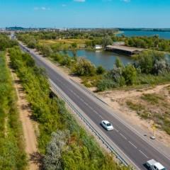 В Астраханской области отремонтировали 10 км трассы Р-215