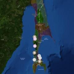 В Сахалинской области запустили полноценную интерактивную карту дорог