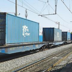 Из Китая в Словакию прибыл тестовый контейнерный поезд