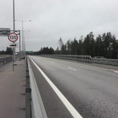 Еще на одном участке трассы М-11 скоростной режим повысили до 130 км/ч