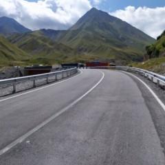 С 25 мая в Грузии ограничат проезд по Военно-Грузинской дороге