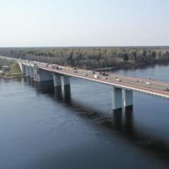 В ночь на 13 июля разведут Ладожский мост на трассе Р-21 «Кола»