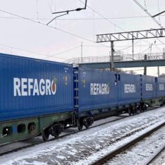 Между Китаем и Россией открыли новый рефрижераторный сервис