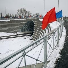 В Курчатове открыли путепровод через железную дорогу