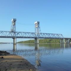 29 августа из-за разводки моста на 2 часа перекроют трассу Р-21 «Кола»