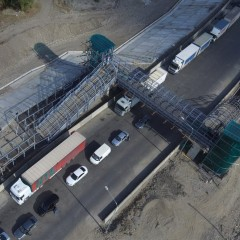 На границе России и Азербайджана открыли мост через реку Самур