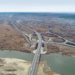 В Алтайском крае открыли новый мост через реку Чумыш
