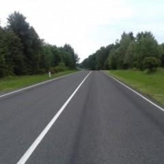 Федеральная трасса А-216 в Калининградской области