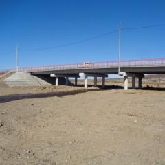 В Забайкалье завершили ремонт моста на трассе к границе с Китаем