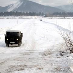 В Бурятии открыли две ледовые переправы