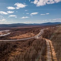 К концу года заасфальтируют еще 35 км федеральной трассы «Лена»