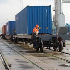 Балтийск принял первый контейнерный поезд по маршруту «Китай-Европа»