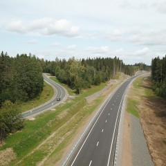 Росавтодор открыл движение на новом участке трассы А-121 «Сортавала» в Карелии