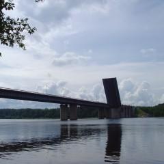 Ладожский мост на трассе Р-21 «Кола»