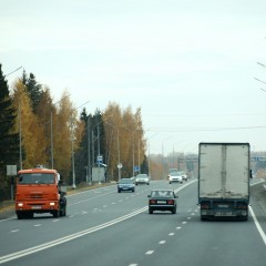 Участок трассы А-119 на подъезде к Вологде расширили до четырех полос