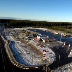 В Вологодской области на трассе А-114 открыли площадку для отдыха