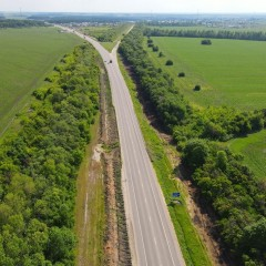 Подъездную дорогу к Липецку расширят до четырех полос