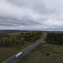 В Чувашской Республике дополнительно защитили 12 км трассы М-7 «Волга»