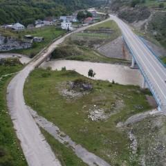 В Кабардино-Балкарии три моста через Баксан на трассе А-158 закроют на ремонт
