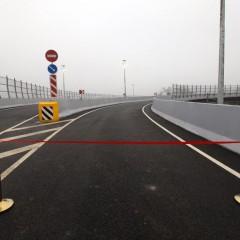 Запущено движение по новой разворотной петле на трассе М-1 в Подмосковье