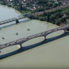 Яблоновский мост на границе Адыгеи и Краснодарского края