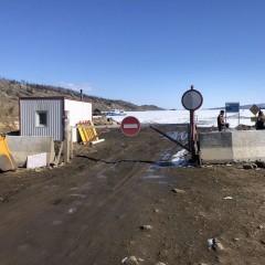 В Иркутской области закрыли ледовую переправу на Ольхон
