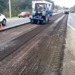 В Брянской области капитально отремонтируют более 50 км трассы Р-240