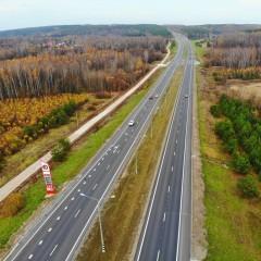В Тульской области отремонтировали трассу М-2 «Крым»